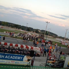 Photo taken at Varna Karting Track by Rosca A. on 8/24/2014