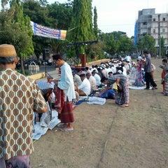 Photo taken at Lapangan Flores by Acenk G. on 10/25/2012