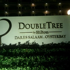Photo taken at Doubletree by Hilton Dar es Salaam - Oysterbay by Kamugisha M. on 10/13/2012