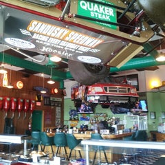 Photo taken at Quaker Steak & Lube® by William T. on 9/20/2013