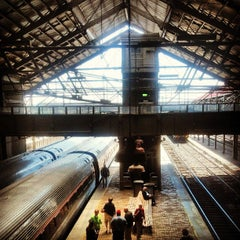 Photo taken at Amtrak: Harrisburg Transportation Center (HAR) by Richard A. on 4/25/2013