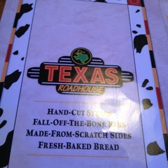 Photo taken at Texas Roadhouse by Jason H. on 8/17/2013