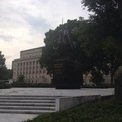 Photo taken at Simon Bolivar, the Liberator Statue by Dieter 'heavy-d' B. on 5/28/2014