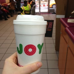 Photo taken at Dunkin' Donuts by Audrey M. on 11/6/2012