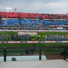"Photo taken at Stadio Cibali ""Angelo Massimino"" by Giovanni Z. on 3/3/2013"