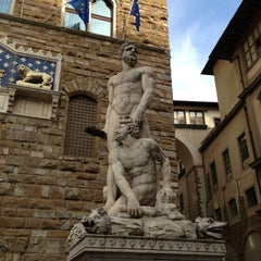 Photo taken at Palazzo Vecchio by Serg G. on 5/7/2013