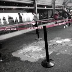 Photo taken at 镇坪路地铁站 | Zhenping Rd. Metro Stn. by Jumble H. on 3/12/2014
