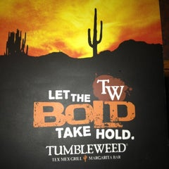 Photo taken at Tumbleweed Tex Mex Grill by Lindsey on 10/6/2012
