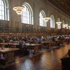 Photo taken at New York Public Library by Amber on 5/30/2013