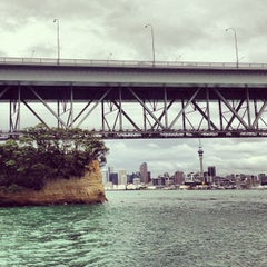 Photo taken at Northcote Point by Alexey on 1/14/2013