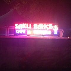 Photo taken at Saklı Bahçe Cafe&Nargile by ENES K. on 10/1/2012