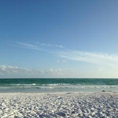Photo taken at Siesta Key Beach by Liberato S. on 6/3/2013