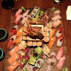 Photo taken at Blue Ribbon Sushi Izakaya by Krystal B. on 3/30/2013