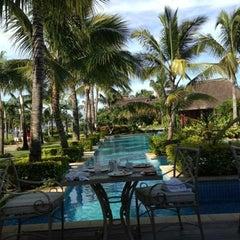 Photo taken at Sugar Beach Mauritius Hotel Resort & Spa by Jason Z. on 3/28/2013