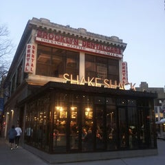 Photo taken at Shake Shack by E M. on 3/9/2013