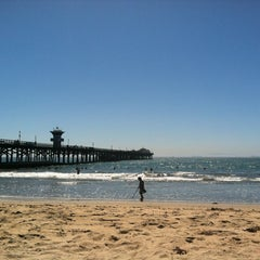 Photo taken at Seal Beach by Michelle Z. on 9/14/2012