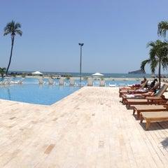 Photo taken at Tamacá Beach Resort Hotel by Julio Cesar T. on 7/12/2013