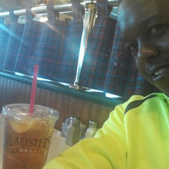 Photo taken at McAlister's Deli by Vincent Ron W. on 4/22/2013