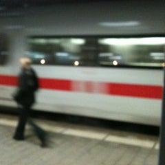 Photo taken at Gleis 9/10 by Martin Z. on 11/27/2012