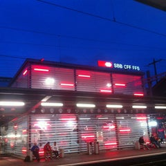 Photo taken at Bahnhof Olten by Martin Z. on 9/18/2013