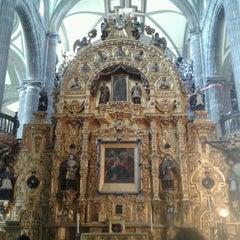 Photo taken at Catedral Metropolitana de la Asunción de María by Eli V. on 10/14/2012