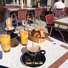 Photo taken at Café du Martroi by Aurelie on 5/17/2014