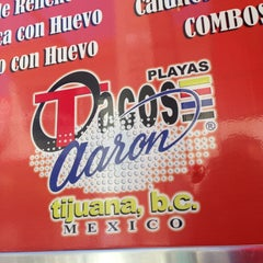Photo taken at Tacos Aaron Playas by Gethsemani G. on 4/11/2013