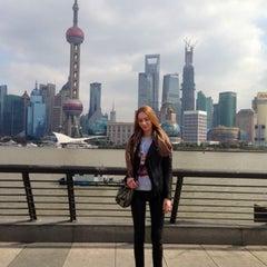 Photo taken at Hyatt on the Bund Shanghai by Marty on 3/4/2013