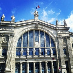 Photo taken at Gare SNCF de Paris Nord by Joao Paulo F. on 5/22/2013