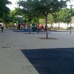 Photo taken at Parque Infantil Churriana by Noelia M. on 8/1/2013