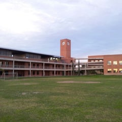 Photo taken at Colegio Cervantes by Samuel U. on 12/14/2012