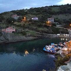Photo taken at Garipçe Köyü by Fulya O. on 10/28/2012