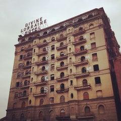 Photo taken at Divine Lorraine Hotel by Jamie G. on 2/16/2013