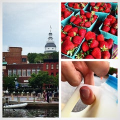 Photo taken at Annapolis Farmers Market by Jamie G. on 5/17/2015