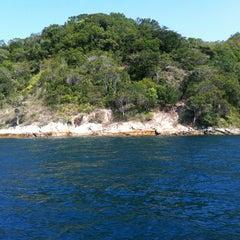 Photo taken at Ilha Grande by Leo M. on 9/15/2012