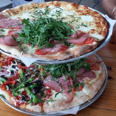 Photo taken at Andiamo! Brick Oven Pizza by Li F. on 6/2/2013