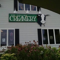 Photo taken at The Collins Creamery by Ron on 7/25/2014