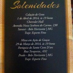 Photo taken at Paroquia Santo Cura D'Ars by Luiz Carlos da Cruz on 3/29/2014