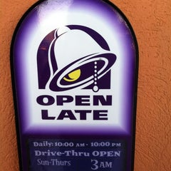 Photo taken at Taco Bell by Gena W. on 12/2/2012