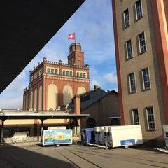 Photo taken at Feldschlösschen Brauerei by Attila . on 11/28/2014