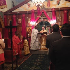 Photo taken at Lusaka Greek Orthodox Church by Svetlana O. on 4/19/2014