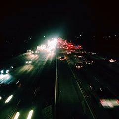 Photo taken at I-605 (San Gabriel River Freeway) by Nastya N. on 1/6/2015