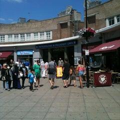 Photo taken at Uxbridge London Underground Station by C J. on 7/7/2013
