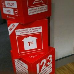 Photo taken at Santander by C J. on 10/24/2012