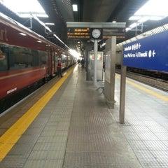Photo taken at Stazione Milano Rogoredo by Daniele L. on 10/17/2012