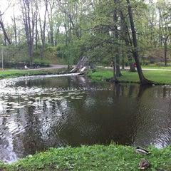 Photo taken at Arkādijas parks by Dmitry on 5/12/2013