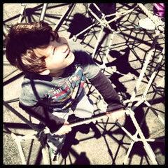 Photo taken at Vanderbilt Playground by Evan R. on 5/14/2013
