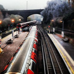Photo taken at North Acton London Underground Station by Glynne H. on 12/12/2012