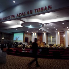 Photo taken at GBI Mawar Saron by Oktavianus L. on 4/3/2015