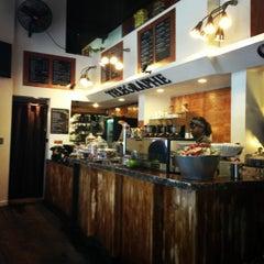 Photo taken at Telegraphe Café by Erin S. on 11/8/2012